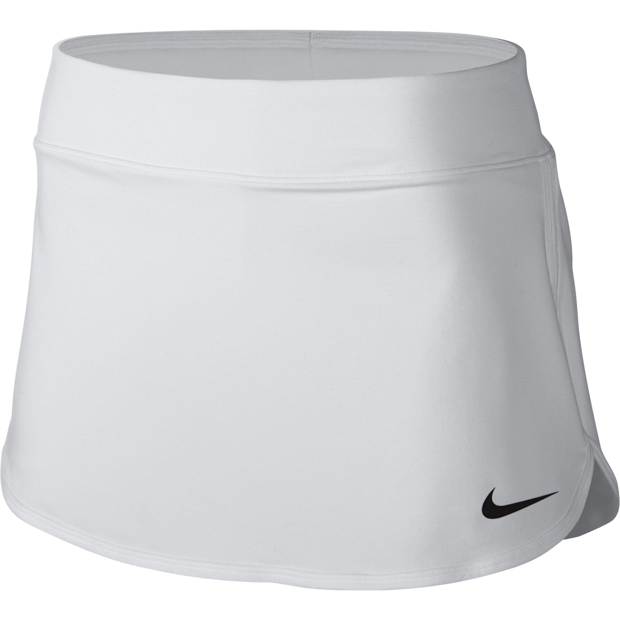 272e64ae83 Nike Court Pure Tennis Skirt White/Black női tenisz ruházat - Match ...